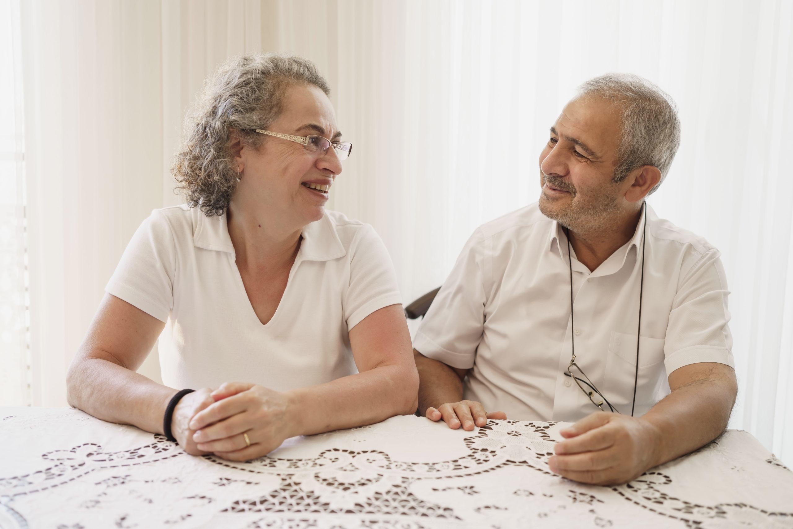 Großeltern Paar